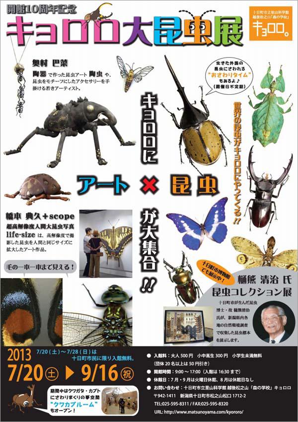 キョロロ大昆虫展