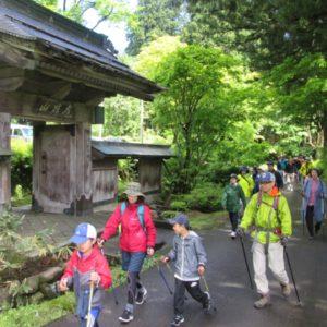 ポールウォーキングで行く「安吾の散歩道」 @ 松之山自然休養村センター